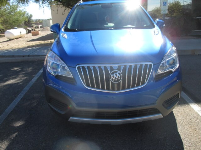 buick encore after body repair