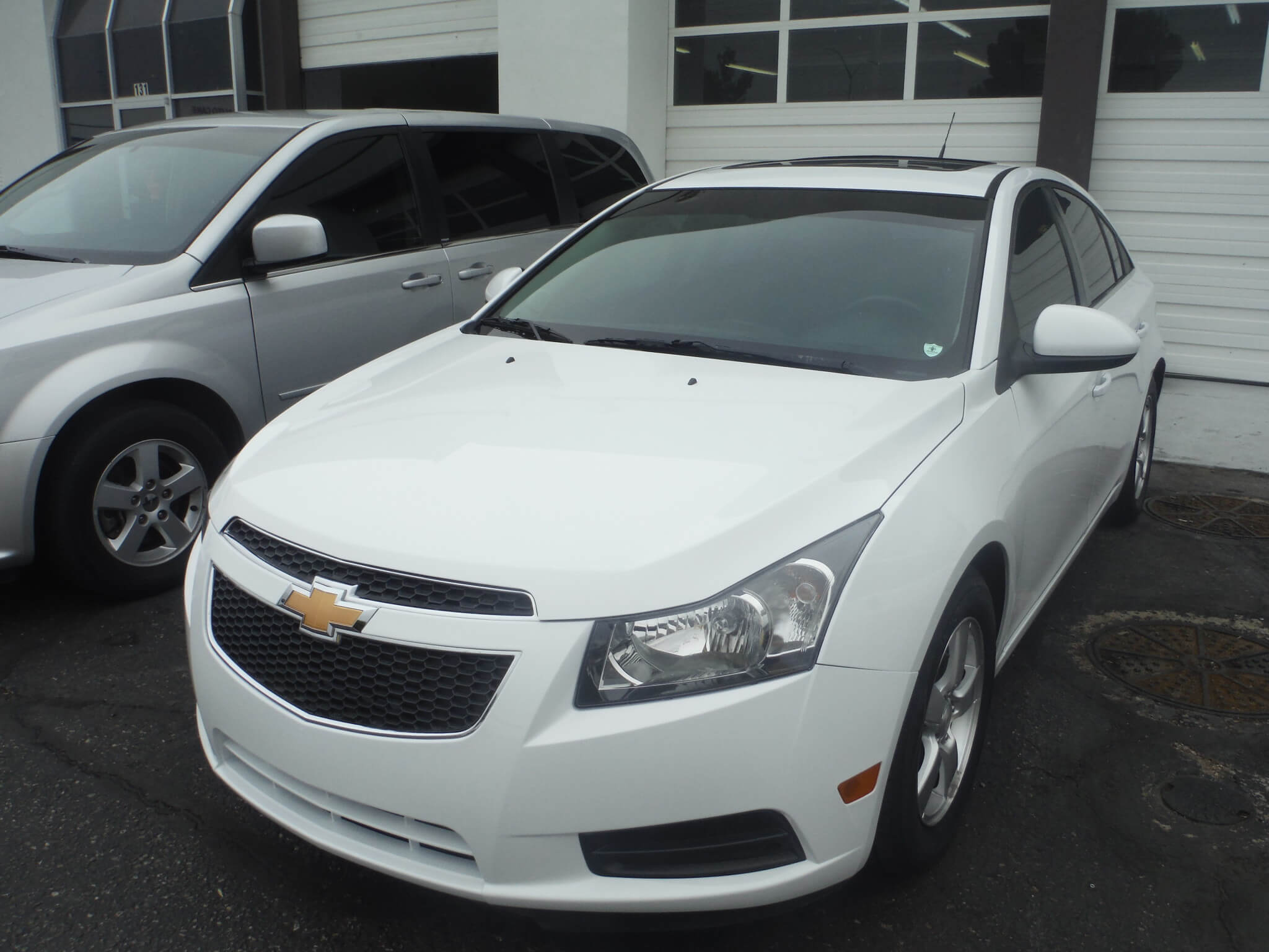 chevy cruze after body repair