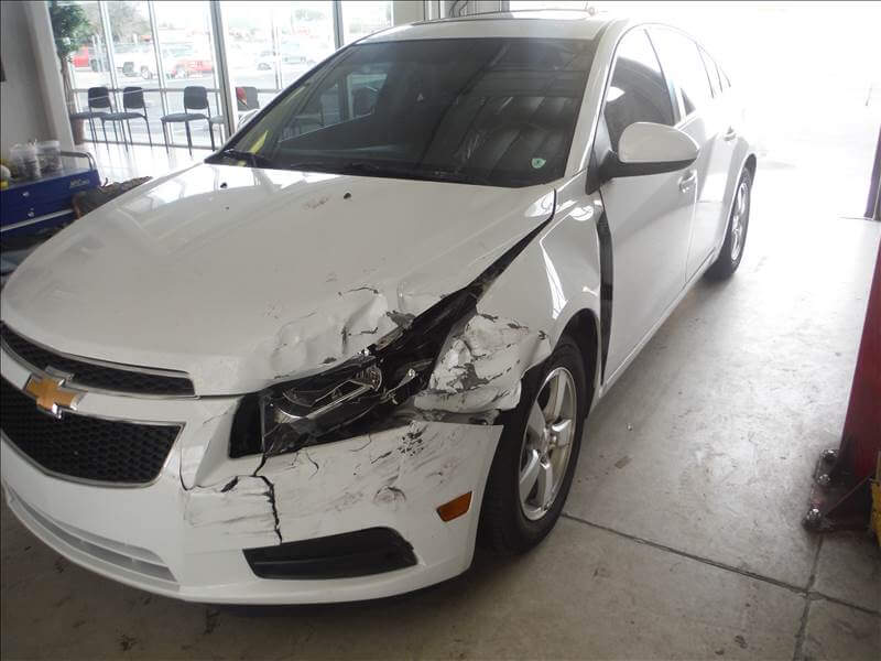 chevy cruze before body repair