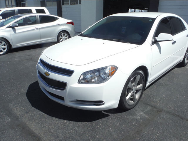 chevy malibu after body repair