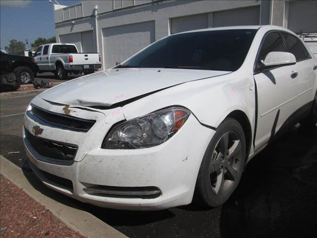 chevy malibu before body repair