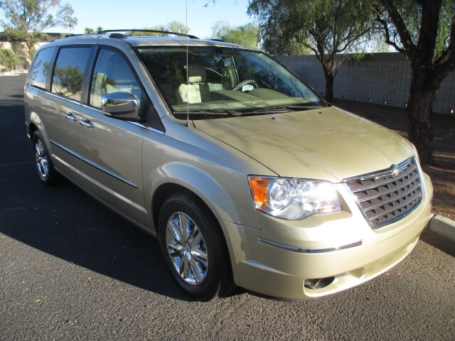 chrysler town after body repair