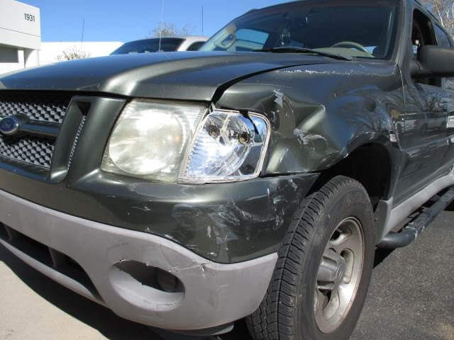 ford explorer before body repair