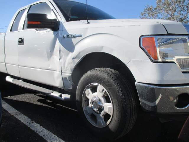 ford f150 before body repair