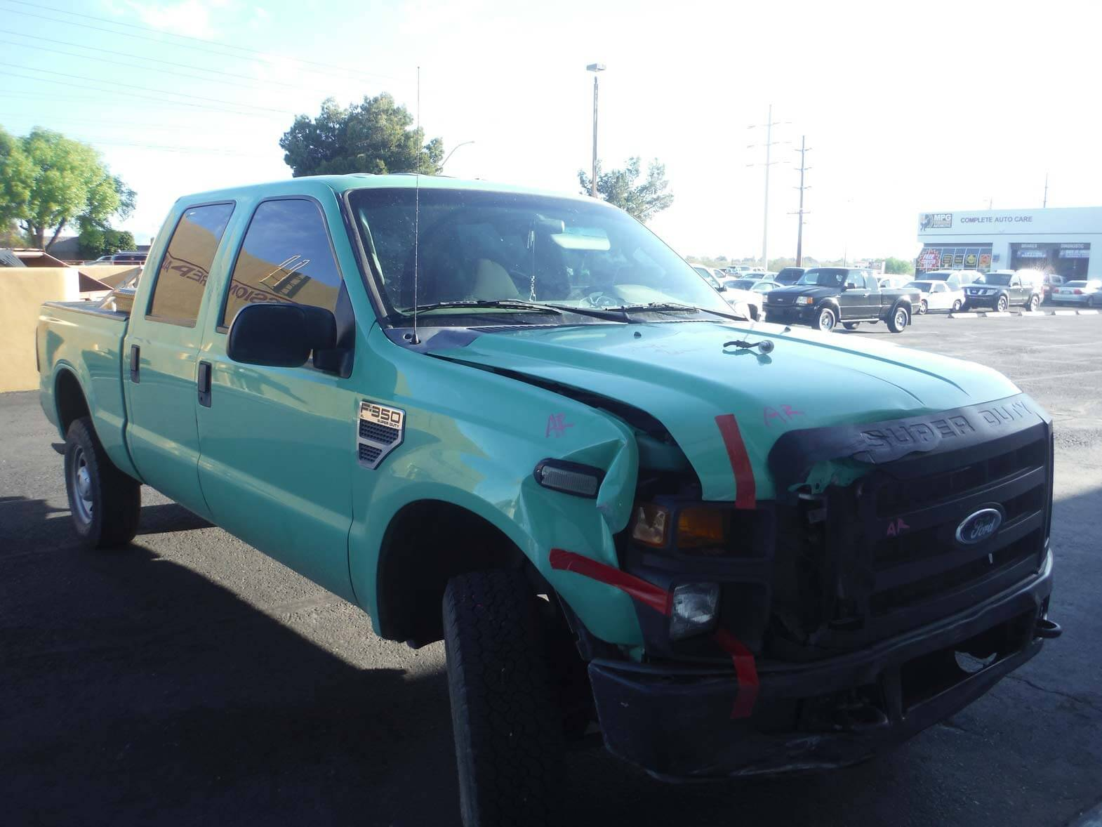 ford f-350 after body repair