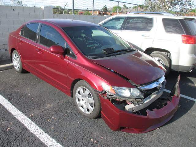 honda civic before body repair