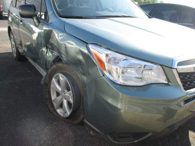 subaru forester before body repair