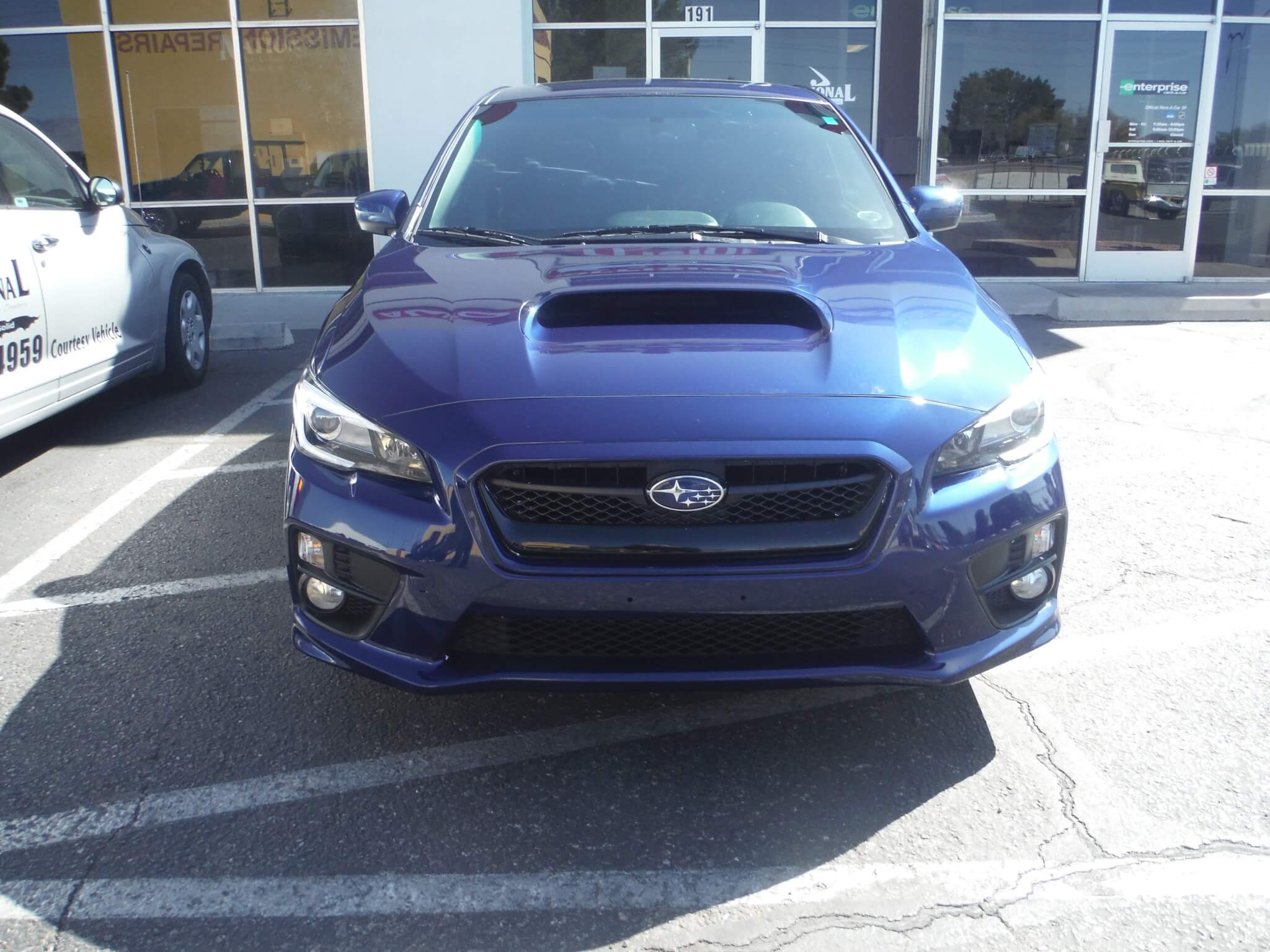 subaru wrx after body repair