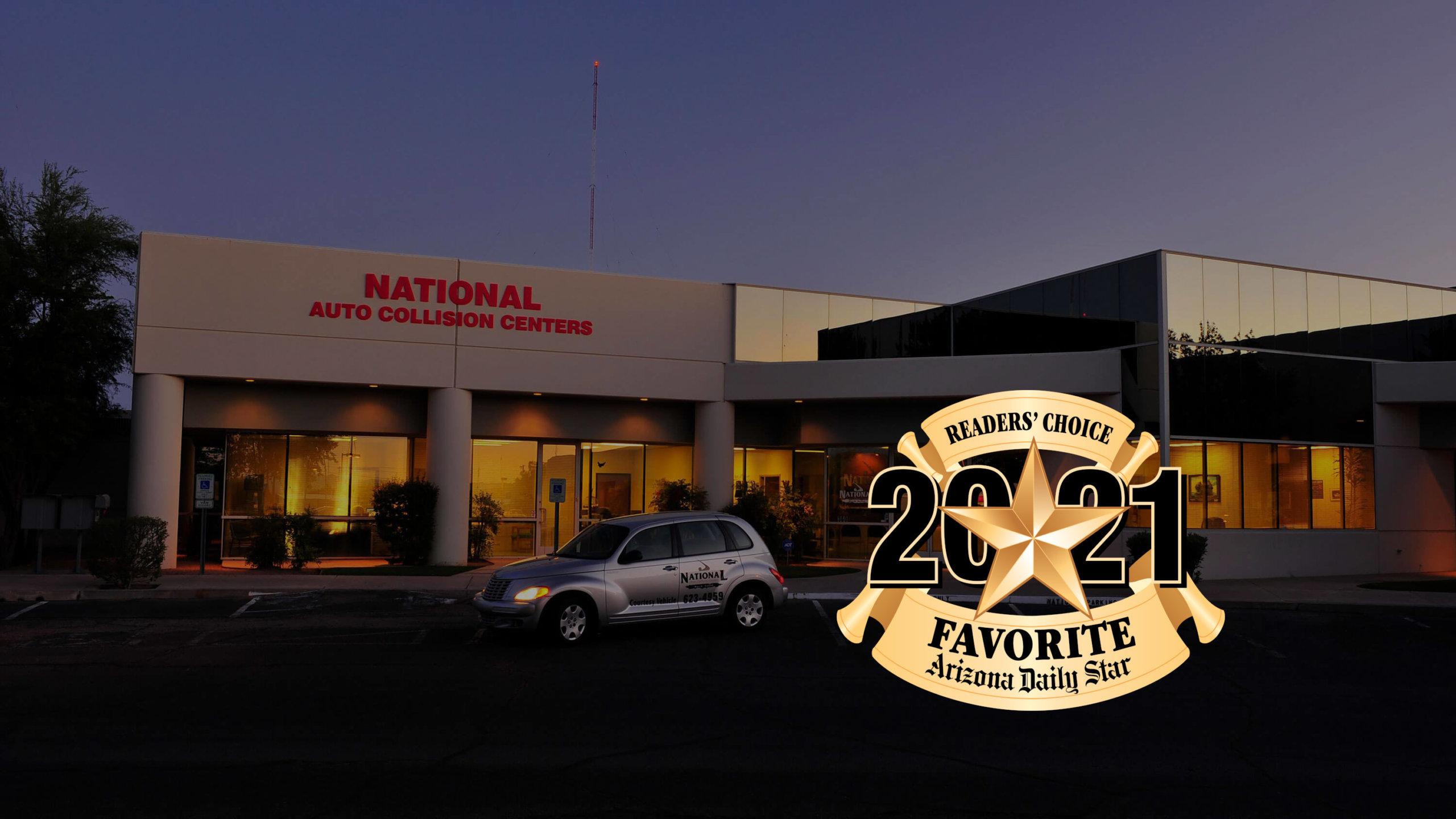 2021 Reader's Choice Award Best Auto Body Shop & Best Auto Repair Shop