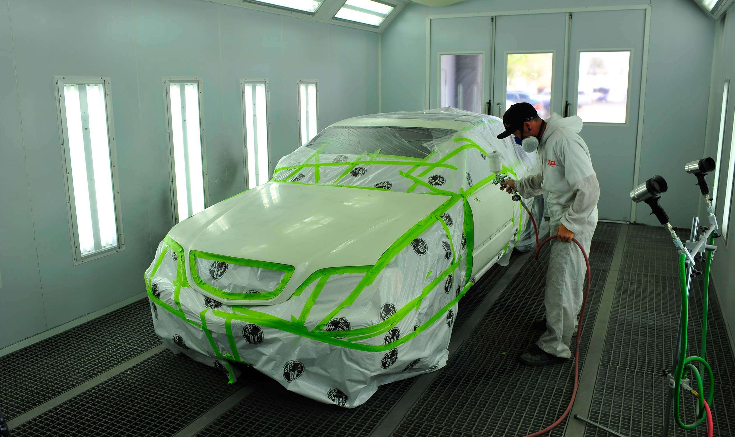 See How Auto Shops Match Car Paint Colors