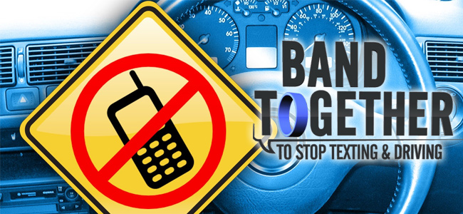 Take the pledge! Don't text and drive.